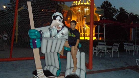 Disney's All-Star Movies Resort: Área da piscina