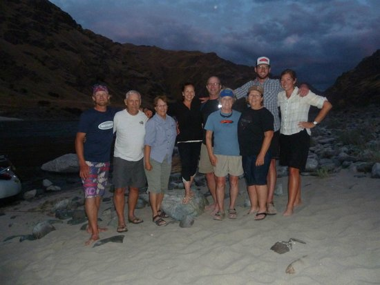 Hells Canyon Raft : Best time had by all!