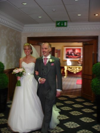 Best Western Premier Hallmark Hotel Preston Leyland: entrance to the suite the wedding was in