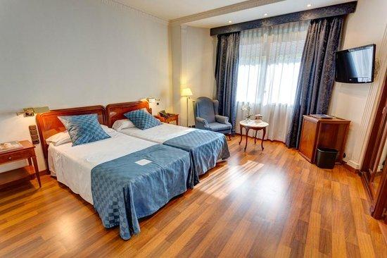 Ayre Hotel Astoria Palace: Camera da letto della Junior Suite Classic