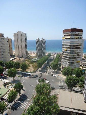 Belroy Apartamentos : Zeezicht vanuit alle app.