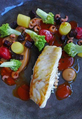 The Restaurant at The Cottage in the Wood: Whitehaven Turbot
