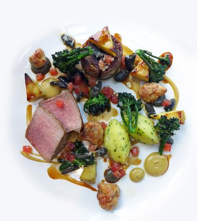The Restaurant at The Cottage in the Wood: Lamb