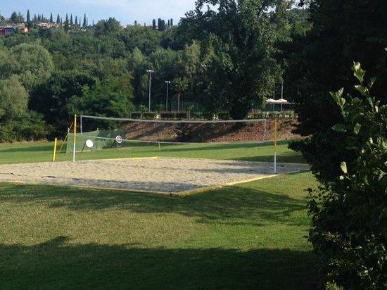 Poiano Resort Appartamenti: Beach Volley Ball Area and Archery