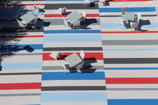 Hotel Admeto : Terrasse