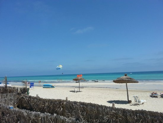 Al Jazira Beach & Spa: Vu de la piscine