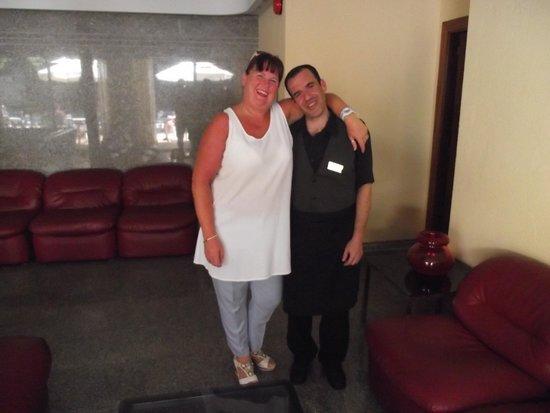 Hotel Perla: manuel best waitor