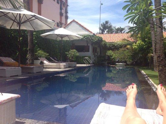 La Paloma Hotel: Beautiful peaceful pool