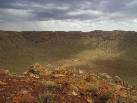 Meteor Crater: Too Big to Photograph