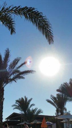 Seabel Rym Beach : Caressé toute la journée par le soleil !
