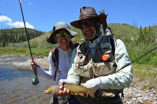 Fish the Fly: Nice Cutthroat!