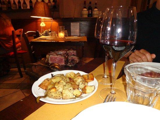 Giannino in San Lorenzo: 1 kg di amore..fiorentina!