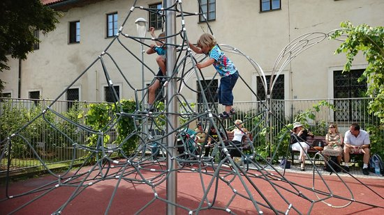 NYX Prague: Playground nearby