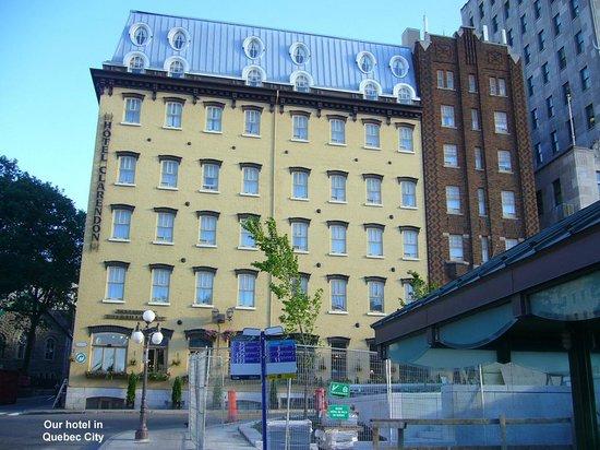 Hotel Clarendon Old Quebec City