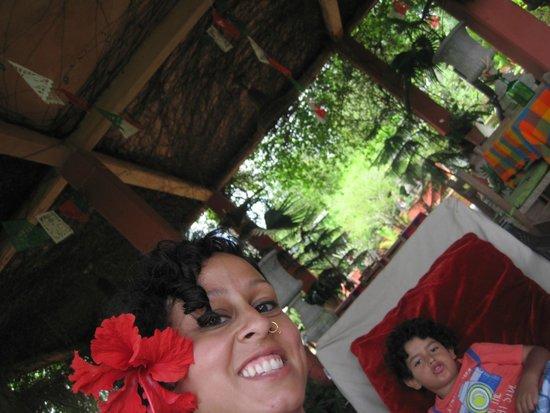 Vallarta Botanical Gardens: loungin