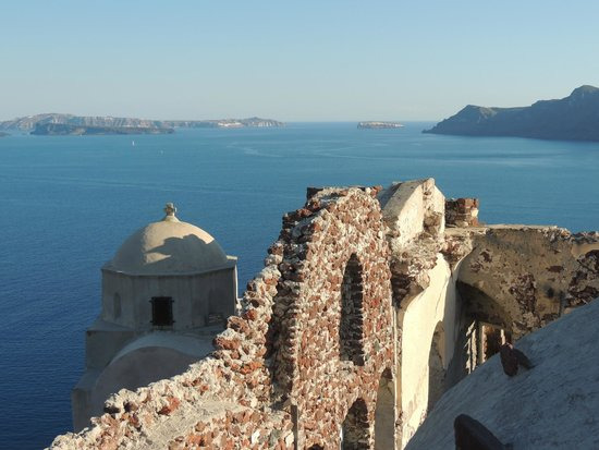 Byzantine Castle Ruins: Gorgeous views