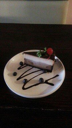 Korean House: Triple chocolate cheesecake. ..