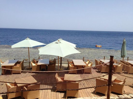 Grand Rotana Resort & Spa : this was by the beach from the beach bar and grill