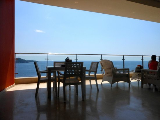 Rixos Hotel Libertas: View from the terrace bar