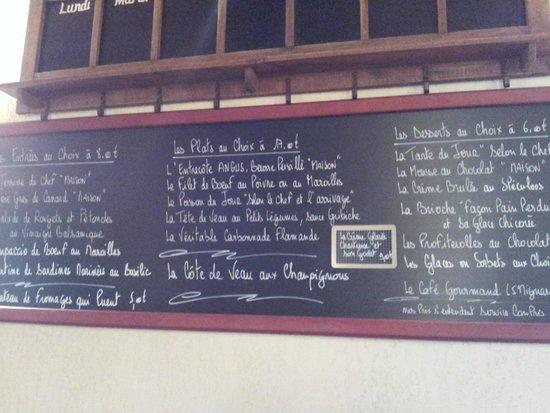 Valenciennes, França: les ardoises