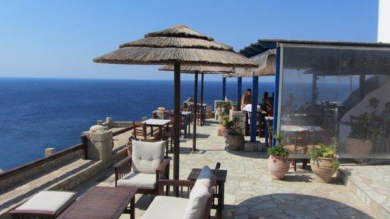Psaravolada Resort: la terrazza