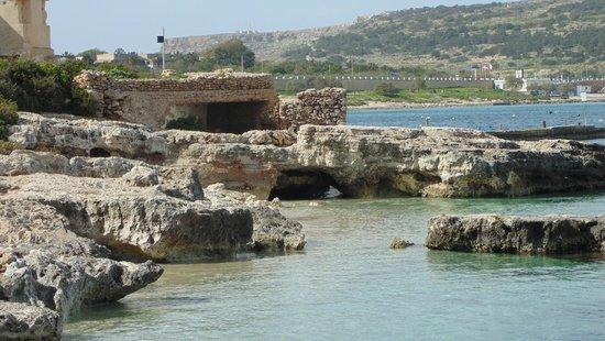 Mellieha Beach : Beach