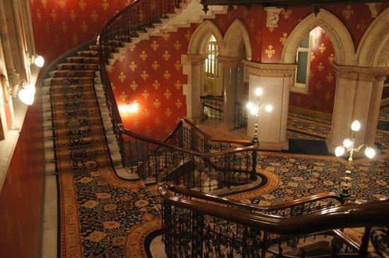 St. Pancras Renaissance Hotel London : La déco...