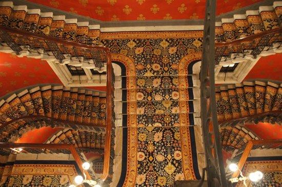 St. Pancras Renaissance Hotel London : Les tapisseries