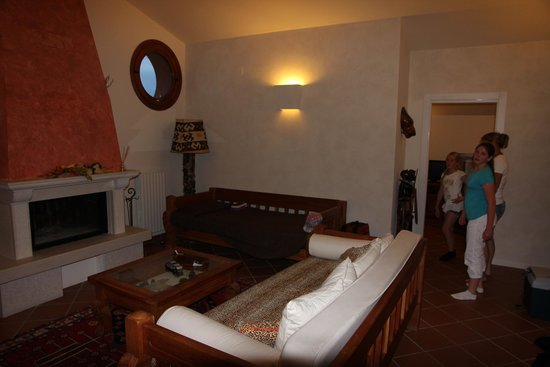 Ca' Maddalena: Living room in room 11