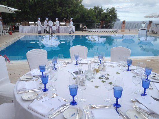 Belmond Reid's Palace : White Party table