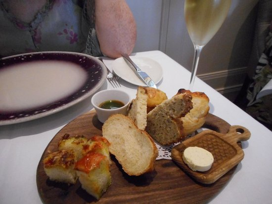 MacNean Restaurant: Mac Neans -Assorted breads with flavoured butter