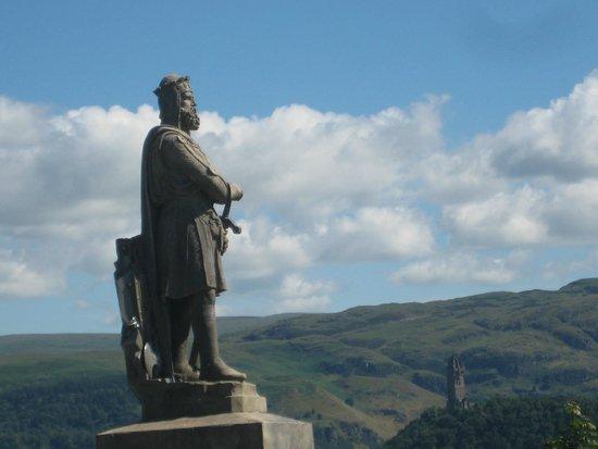 Viajar Por Escocia Tours en Español: Monumento a William Wallace desde el castillo de Stirling