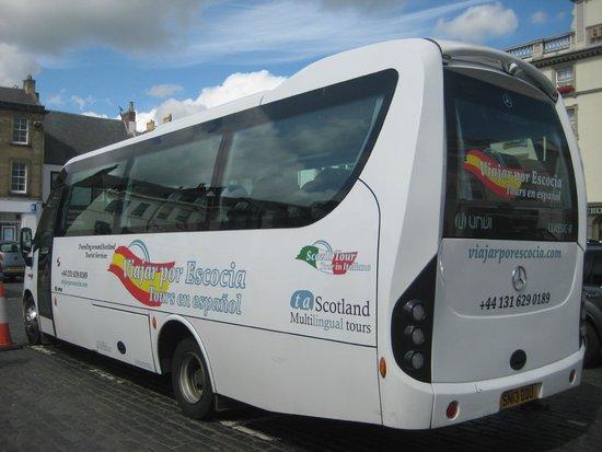 Viajar Por Escocia Tours en Español: Autobús de Viajar por Escocia