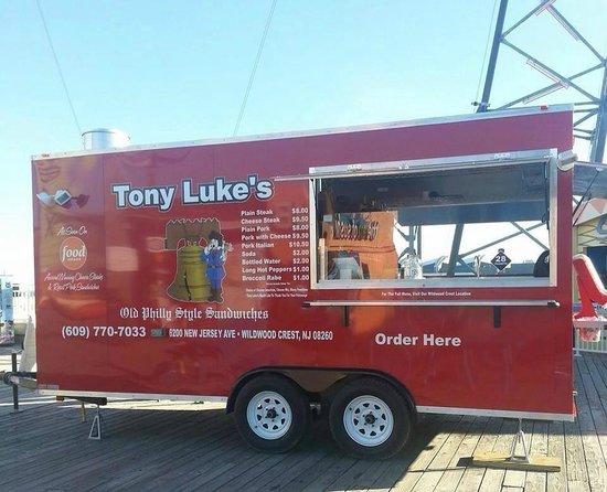 Tony Luke's portable unit on the Wildwood, NJ boardwalk