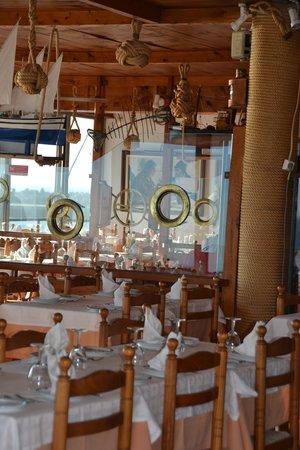 Restaurante Esplanada Furnas : Interior Furnas
