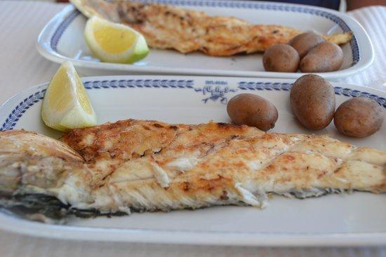 Restaurante Esplanada Furnas : Grilled fish Furnas