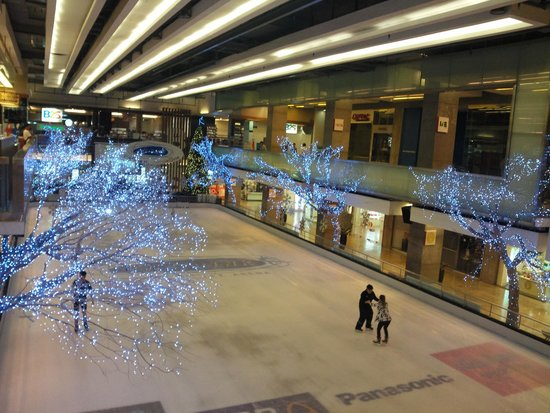 Central World Plaza : каток