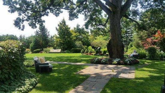 Castle Hotel & Spa : outdoor event area