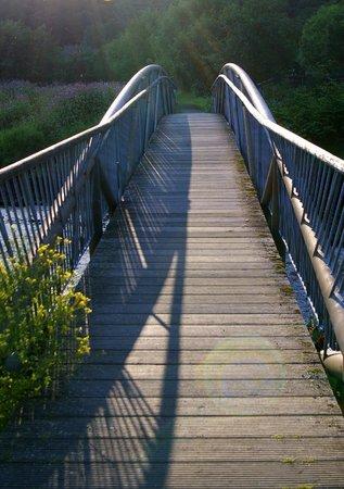 Claymore Hotel: Bridge over Loch Long