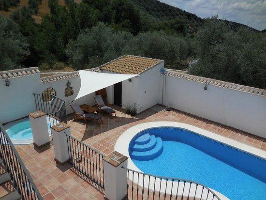 Casa Valle de Oro: uitzicht vanop het zonneterras