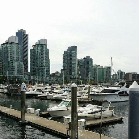 Centre-ville de Vancouver : Marina, downtiwn Vancouver