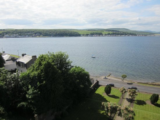 The Glenburn Hotel Ltd: another view from hotel of bay