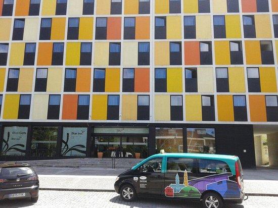 Star Inn Porto Smart Choice Hotel : Hotel y taxi k nos llevaba al centro