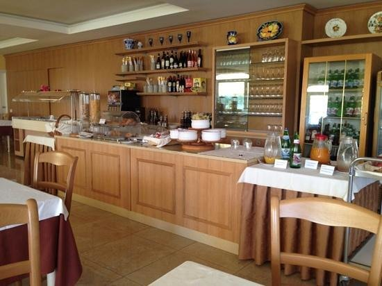 Hotel Ristorante Panoramica: breakfast area view