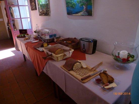 Hotel Domaine du Lac : petit dejeuner