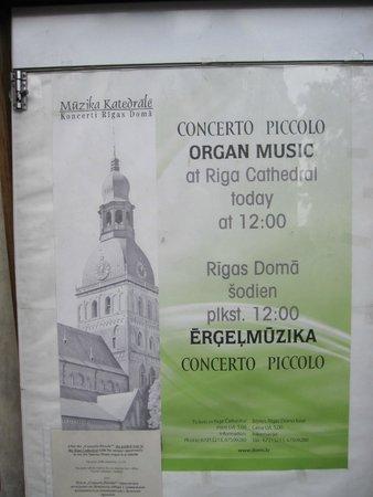St. Mary's Dome Cathedral: La catedral acoge conciertos de música