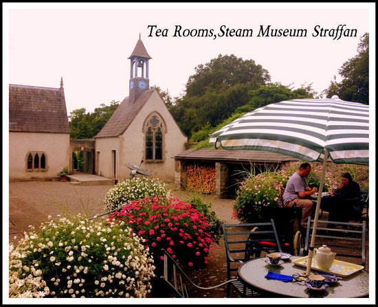 Steam Museum: view from tea rooms