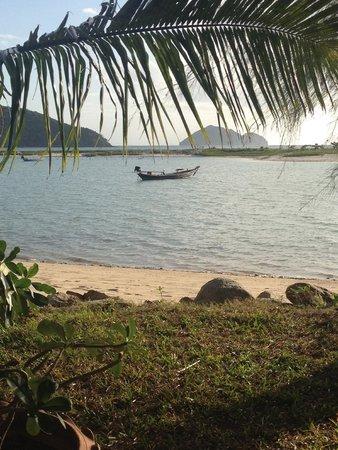 Baan Manali Resort : View from bar