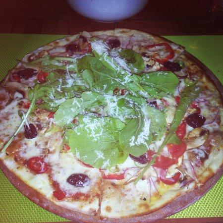 Vanilla: Vegetarian Pizza