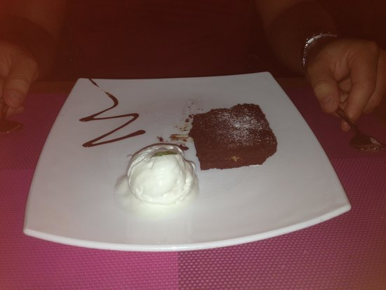 Vanilla: Chocolate Brownie